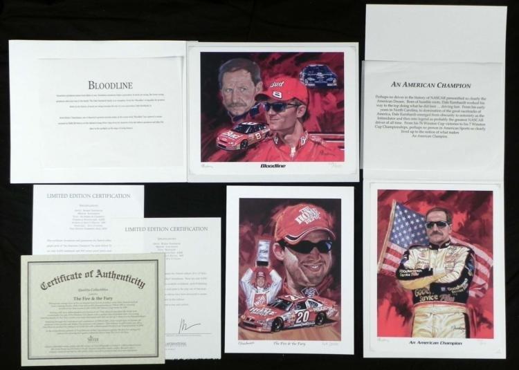 3 Robert Tanenbaum Prints- Bloodline Fire and  the Fury