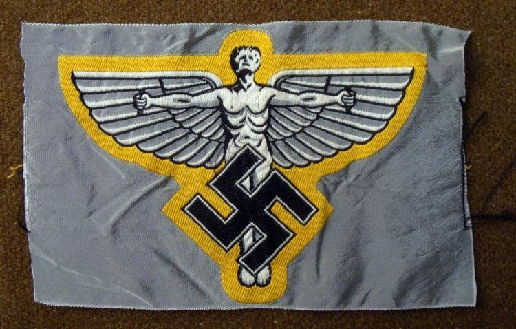 EARLY NSFK LARGE NAZI PILOTS PATCH ORIGINAL