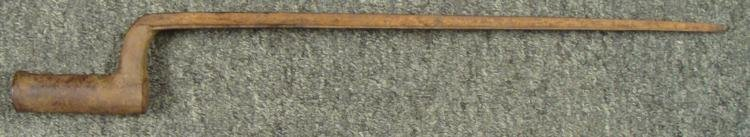 U.S. MODEL 1816 SOCKET BAYONET CIVIL WAR USED - 2