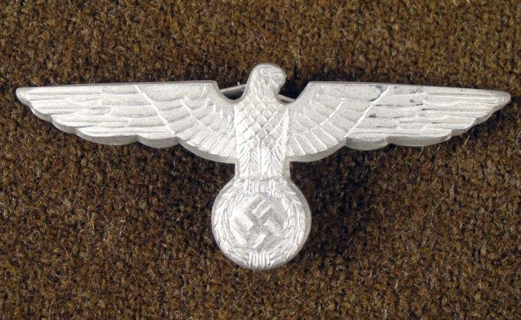 WWII Nazi Infantry Officer Hat Eagle