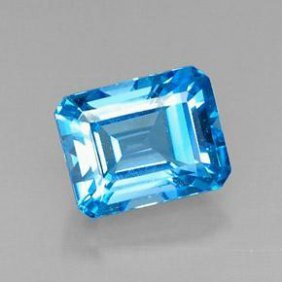 8.43ct Swiss Blue Topaz