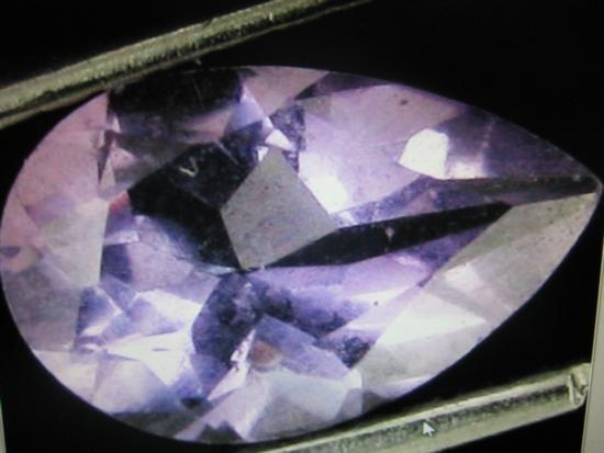 12.32 ctw Amethyst Gemstone (pear Shape)