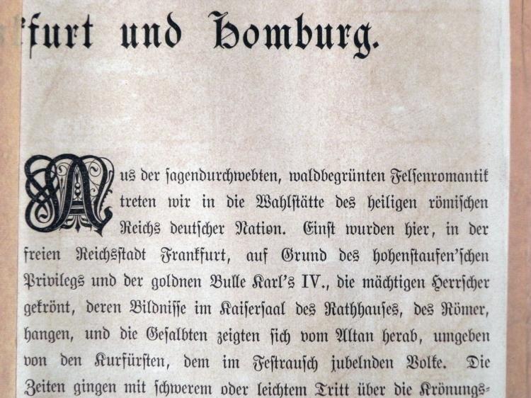 Antique Art Print Germany F. Zenneck R. Kittner - 3