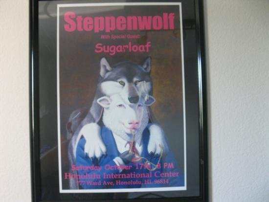 Steppenwolf Concert Poster (Vintage Reproduction)
