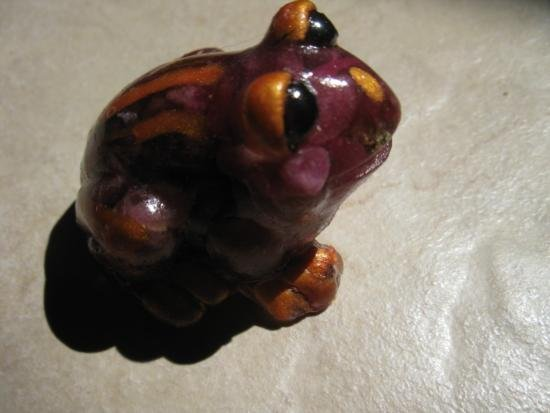 Red Sapphire Frog