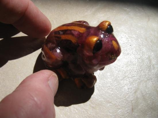 Red Sapphire Frog - 2