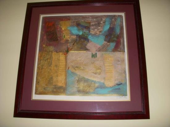 Abstract by Hohne Mixed Media 1 of a kind 32x32