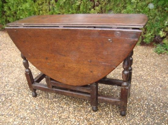 Antique Drop leaf table from Europe circa 1800