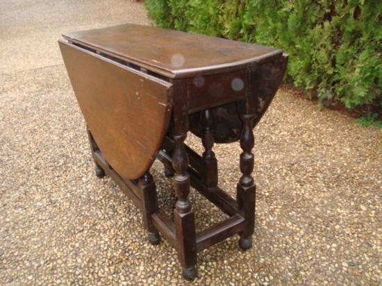 Antique Drop leaf table from Europe circa 1800 - 2