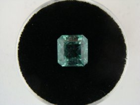 2.18 Carat Bright Glowing Green Emerald Gemstone