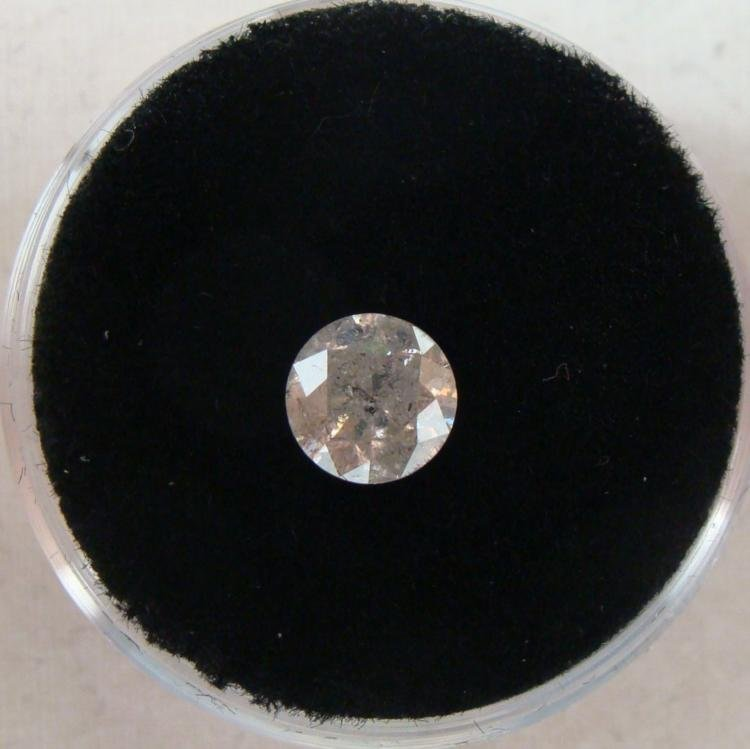 1.03 Carat White Diamond Grade J I-3 Clarity