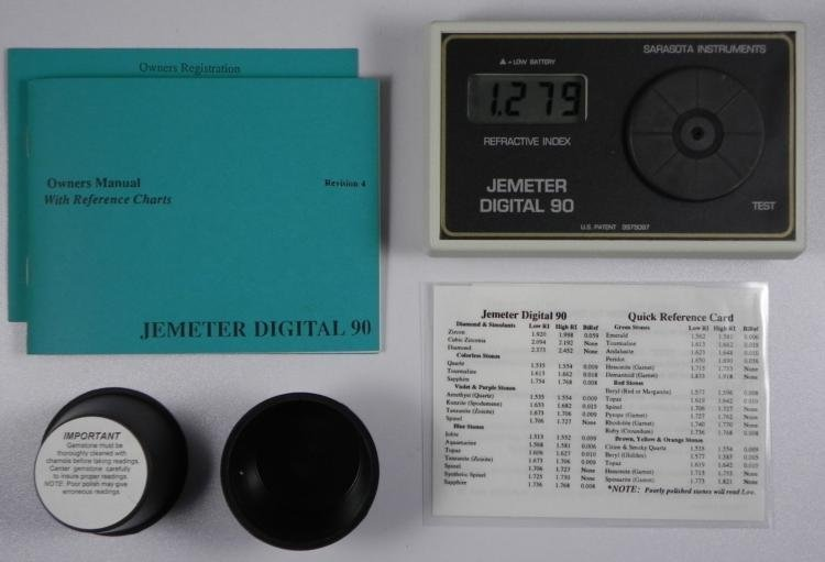 Jemeter Digital 90 Gemstone Gem Measuring Instrument