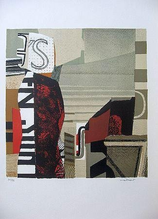 Max Papart Signed Lithograph Art Print 6