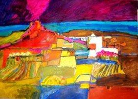 Cecilia Garcia Amaro Signed Art Print Gregorio