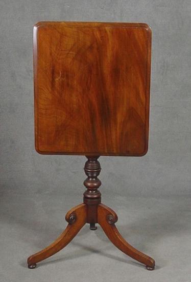 English Mahogany Regency Tilt Top Table