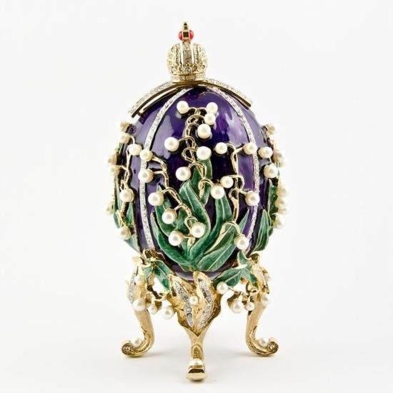 Lilies of the Valley Egg by Carl Faberge