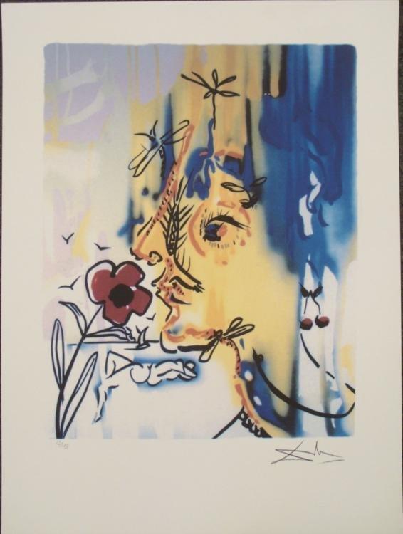 Salvador Dali : Vanishing Face Surrealistic Art Print