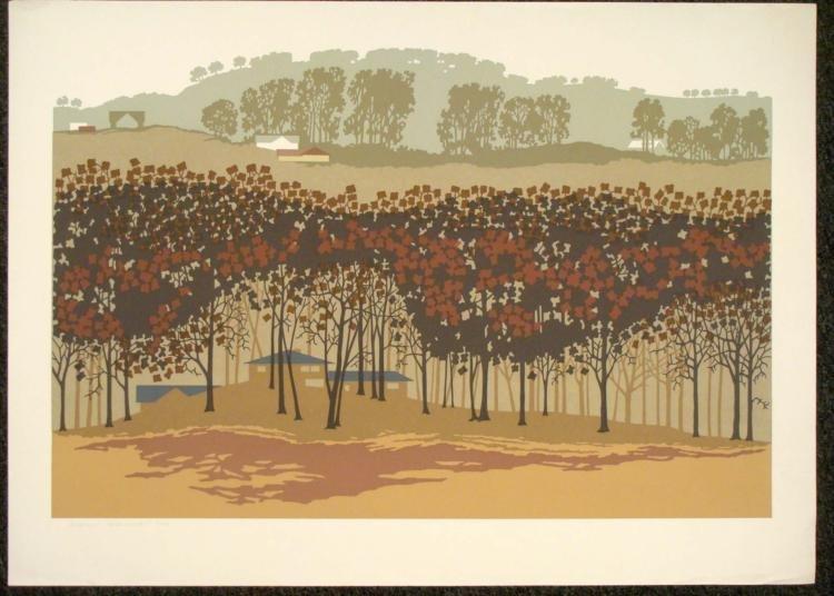 Steve Horan Signed Landscape Art Print Homewood