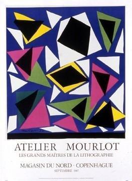 Henri Matisse Art Print L'Escargot Mourlot