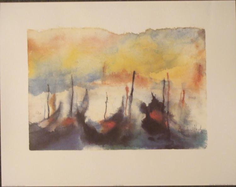 Bernhard Vogel Art Print San Giorgio Venice Italy