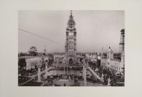 Coney Island Dreamland Print From An Early 1907 Photo
