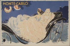 Louis Icart : Monte Carlo Poster Art Print