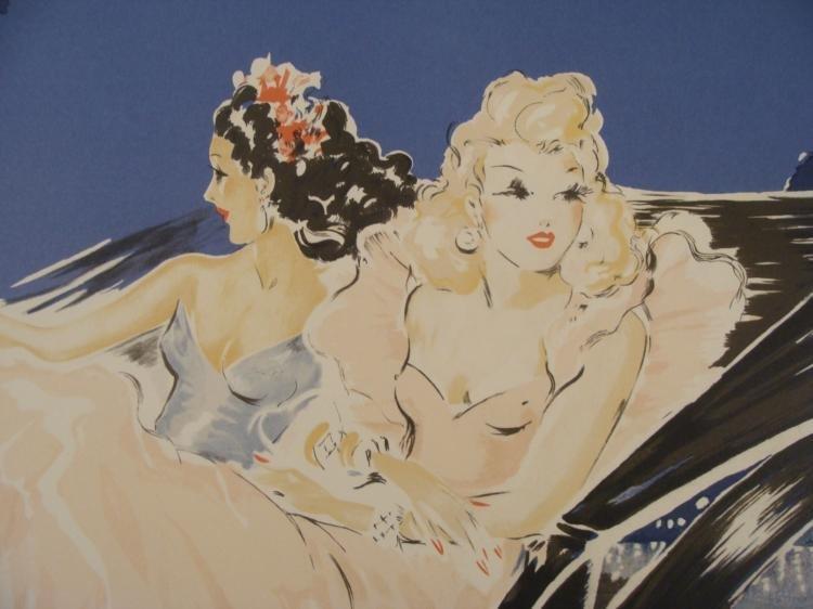 Louis Icart : Monte Carlo Poster Art Print - 2