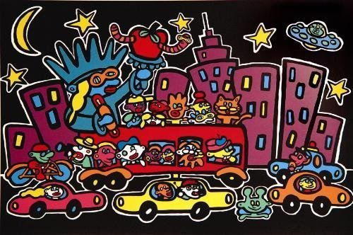 NEW YORK AT NIGHT Hot Pop Art MARCO Signed LE Print