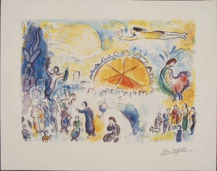 Marc Chagall : Four Seasons Art Print