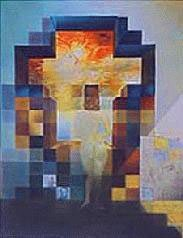 Salvador Dali Interpretation Art Print Lincoln Vision