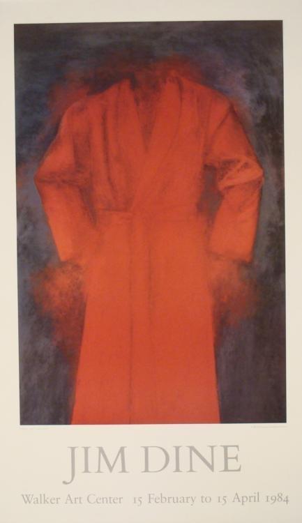 Jim Dine Walker Art Center Exhibit Poster 1984