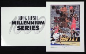 Rick Rush Beautiful Finisih Signed And Numbered Print