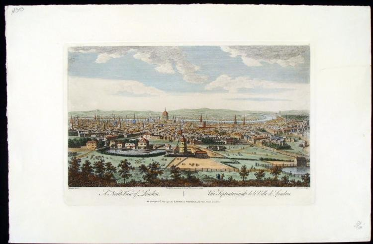 London Antique Etching Laurie & Whittle 1794