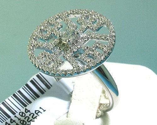 .75 Carat All Diamonds 18K White Gold Ring