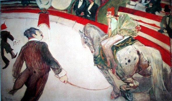 Toulouse-Lautrec Ltd Art Print Cirque Fernando