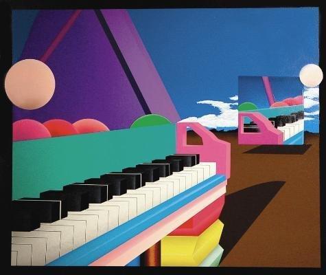GRAND PIANO REFLECTIONS Abstract Art Print Stan Solomon