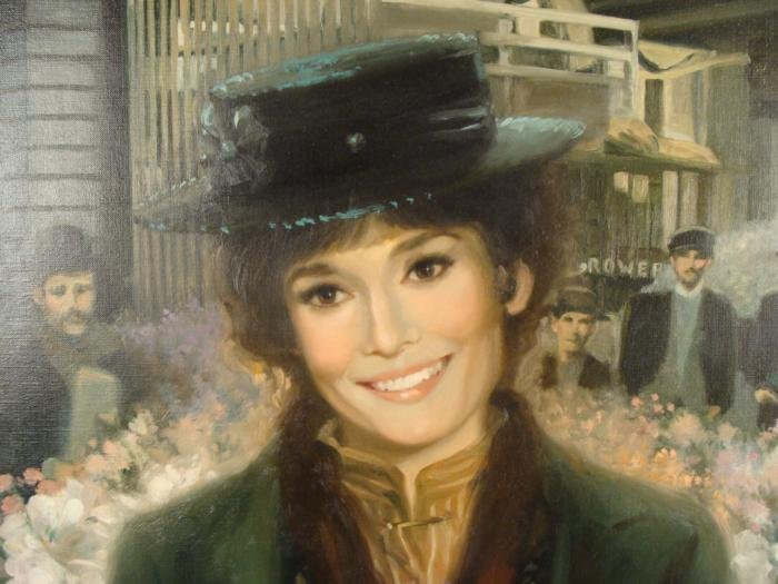 William Chambers Original Painting My Fair Lady Lovely - 2
