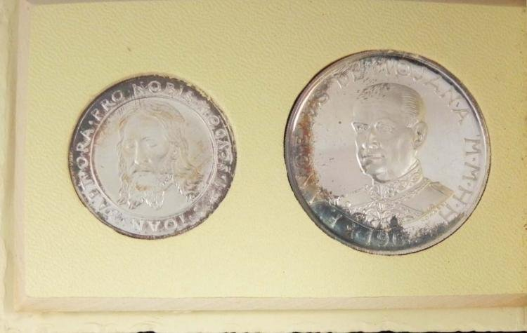 1964 Silver Proof Set - Malta High Quality Coins