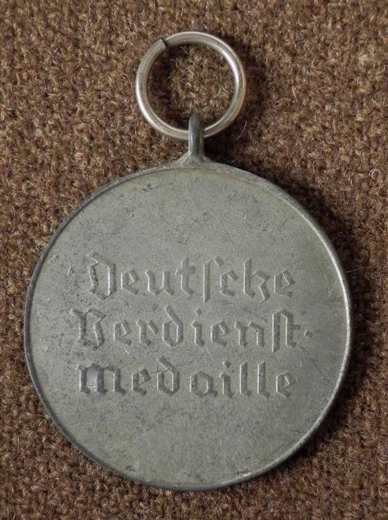 Nazi WWII Repro Faithful Service Medal