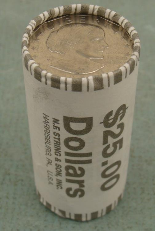 1979-S Bank Roll Susan B. Anthony Dollars Coins UNC