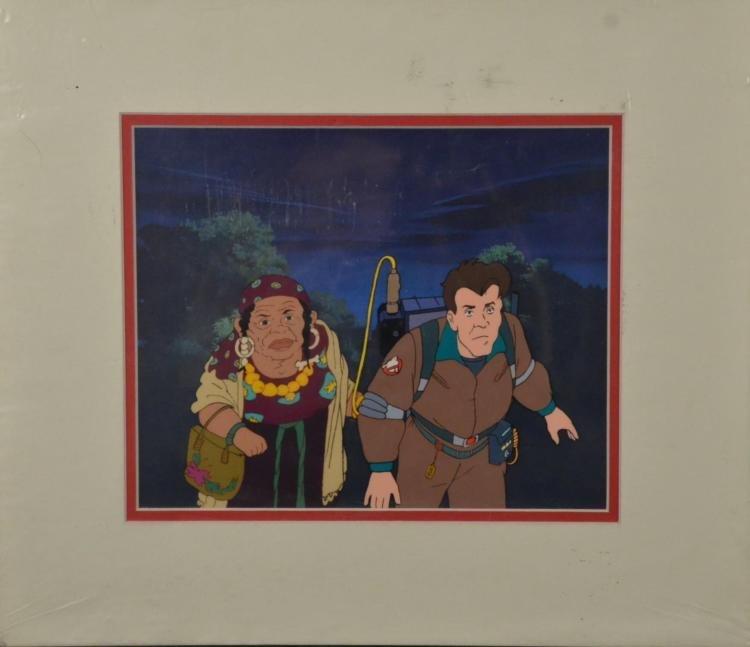 Ghostbusters Original Animation Production Cel Gypsy