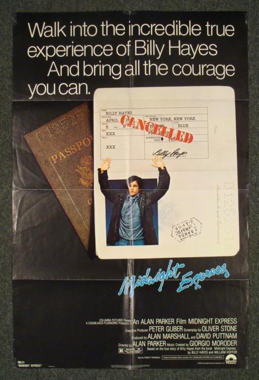 Midnight Exrpress Original 1 Sheet Movie Poster 1978