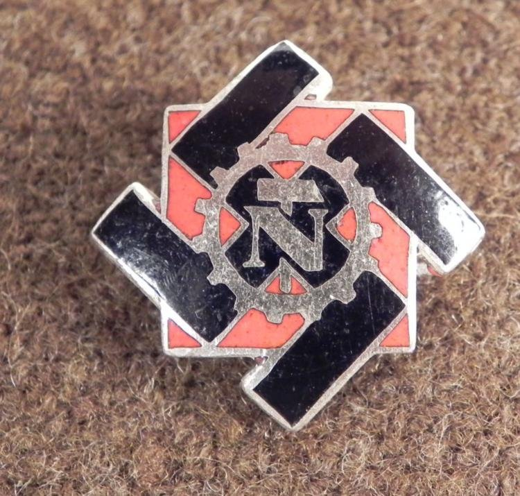 RARE NAZI TENO ASSOCIATION MEMBERS BADGE