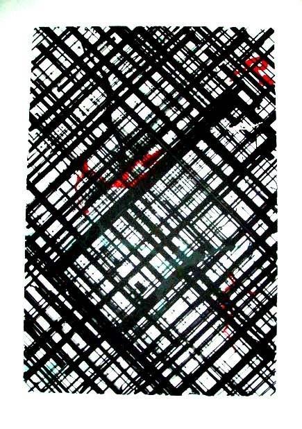 Ed Moses Signed LE Art Print Untitled 5