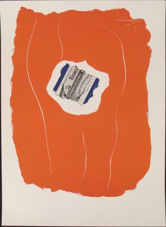 Robert Motherwell Tricolor Xixeme Siecle Art Print