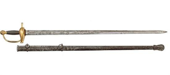 PATTERN 1832 GENERAL AND STAFF OFFICER'S SWORD BY N.P.
