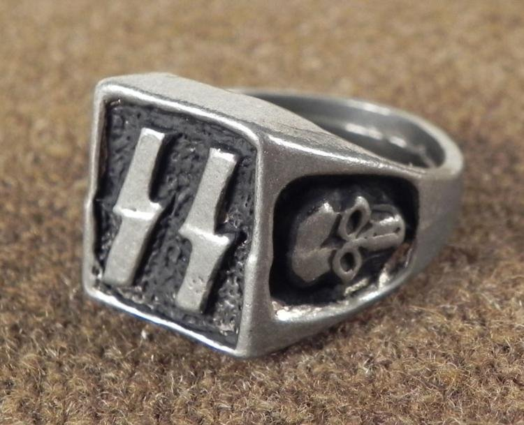 POST-WWII NAZI SS RING