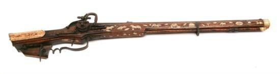 ET0503120026 German - Wheellock - .70 cal - rifle 28.7