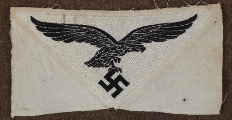 WWII Nazi Luftwaffe Sports Shirt Collar Eagle