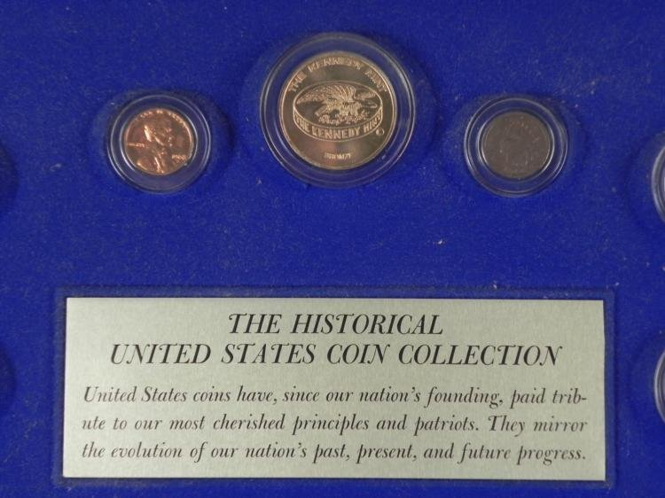 Kennedy Mint Historical U.S. Coin Collection in Case - 2